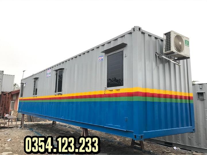 container văn phòng 40feet tại hưng yên
