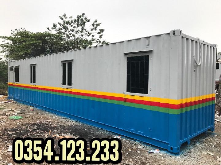 Cho thuê container văn phòng 40feet tại Hải dương
