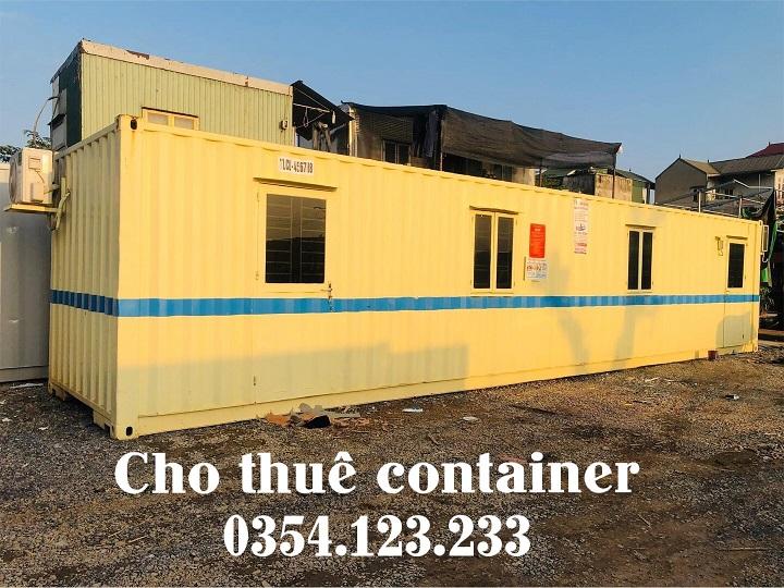 thuê container văn phòng tại vĩnh phúc