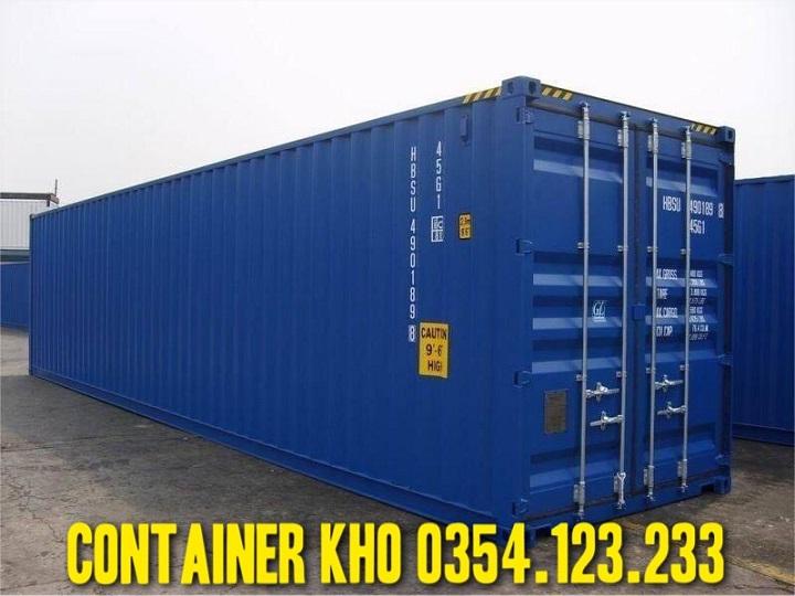 thuê container kho 40ft ở bắc ninh