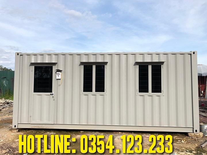 thuê container văn phòng 20feet tại hiệp hòa bắc giang