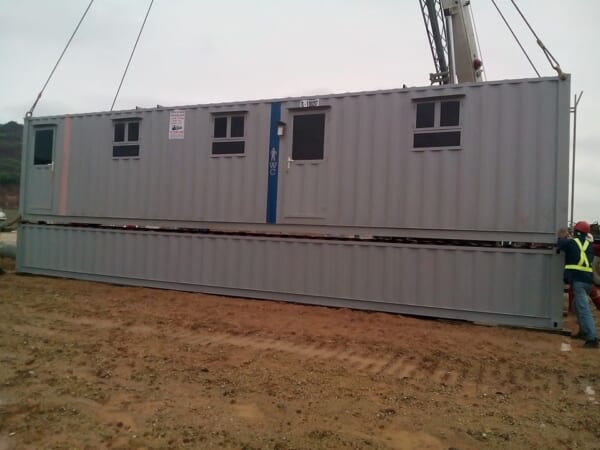 Container vệ sinh 40feet