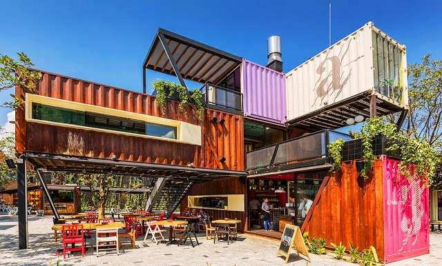 Sự đa dạng trong thiết kế của quán cà phê container
