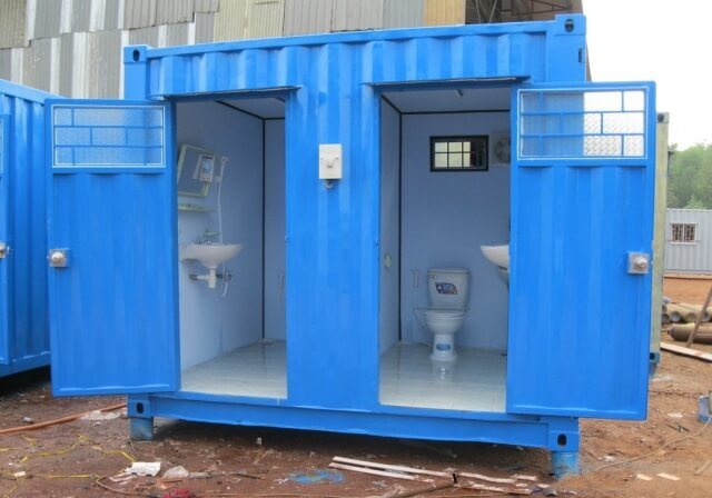 Nhà vệ sinh di dộng từ Container | Global Container