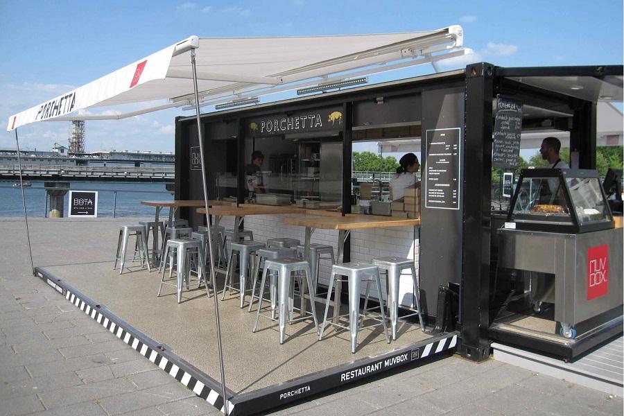 Có nên mở quán cafe container vào thời điểm hiện tại? – Thiết kế quán cafe UNIK