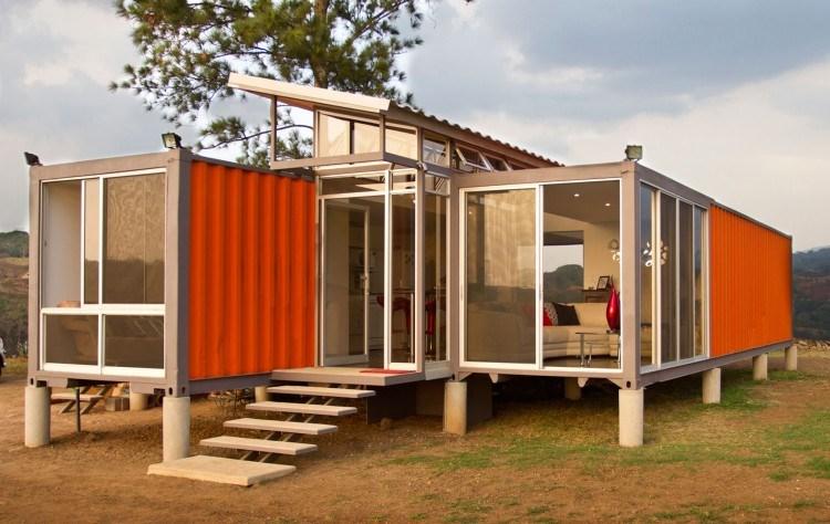 Nhà container giá rẻ, thiết kế nhà container theo yêu cầu