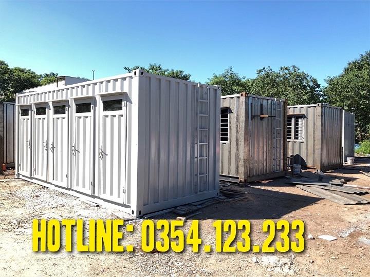 thuê container văn phòng tại đồng văn