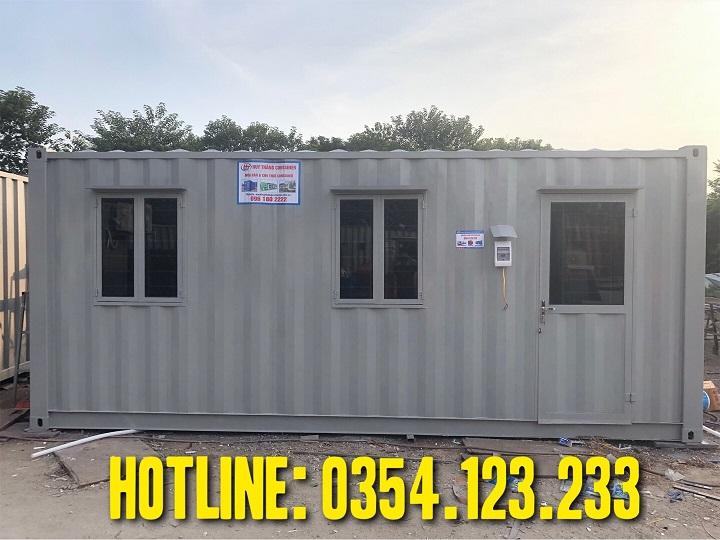 mua container văn phòng cũ 20feet giá rẻ