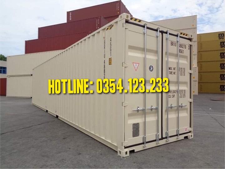Công ty bán container cũ tại Hà Nội, chất lượng tốt