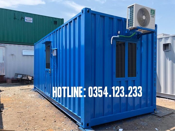 Mua container văn phòng tại Bắc Giang được nhiều đơn vị quan tâm
