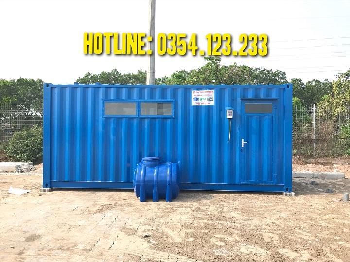 container wc tại cảng quế võ, bắc ninh