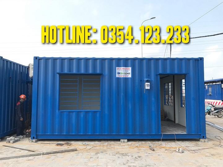 container nhà lắp ghép tại cảng quế võ, bắc ninh