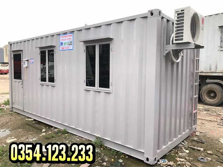 Thuê container văn phòng giá rẻ